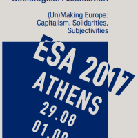 "ESA 2017: THEODOROS FOUSKAS AND FOTINI-MARIA, MINE, ""I HAVE A BAD JOB AND I'M ALONE HERE, BUT I'M NOT EVEN THINKING OF GOING BACK HOME!"" THE IMPACT OF ENTRAPMENT IN PRECARIOUS, LOW-STATUS WORK AND THE SHATTERING OF FAMILIAL AND COMMUNITY NETWORKS OF SOLIDARITY ON THE DECISION OF MIGRANTS TO RETURN IN THEIR ORIGIN COUNTRIES VIA THE ASSISTED VOLUNTARY RETURN AND REINTEGRATION PROGRAMME [31 AUG. (29 AUG.-01 SEPT.) 2017, ATHENS, GREECE]"
